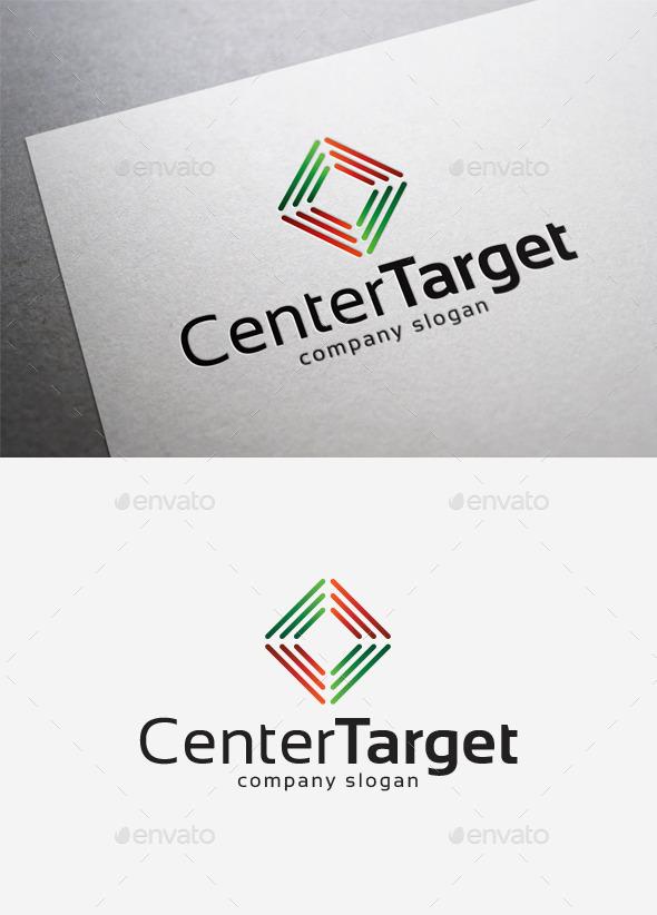 GraphicRiver Center Target Logo 10214584