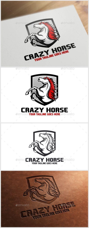 GraphicRiver Crazy Horse Logo Template 10214684