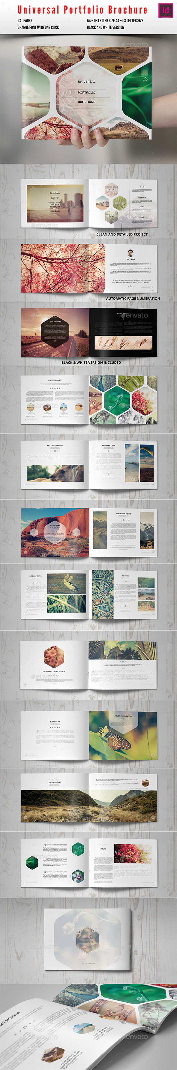 GraphicRiver Universal Portfolio Brochure Catalog 10164031