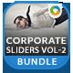 Corporate Slider Bundle - Vol 2 - 10 designs - GraphicRiver Item for Sale