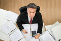 Businessman Doing Paperwork - PhotoDune Item for Sale