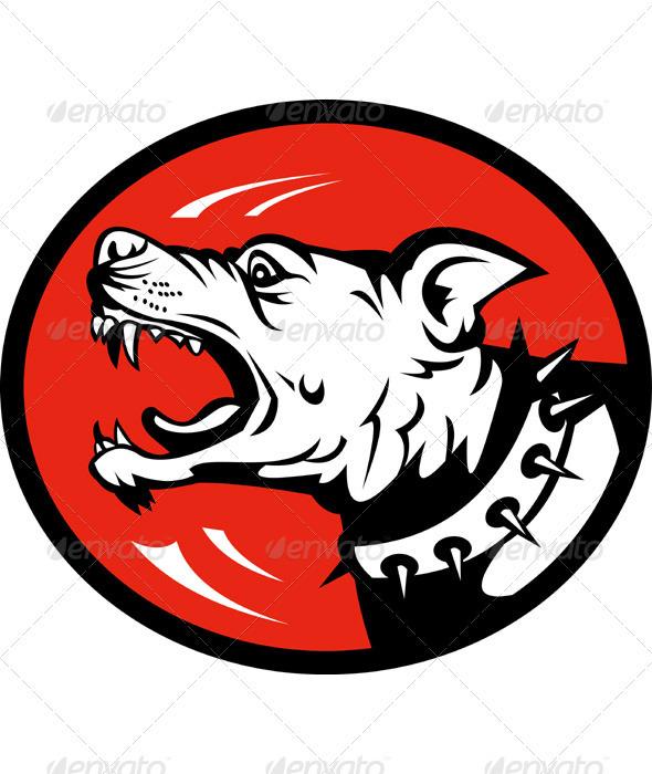 Angry Dog Barking Growliing