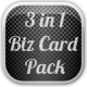 3 in 1 Business Cards Pack - GraphicRiver Item for Sale