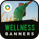 Wellness Banners - GraphicRiver Item for Sale