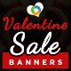 Valentines Day Sale Banners - GraphicRiver Item for Sale