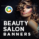 Beauty Salon Banners - GraphicRiver Item for Sale