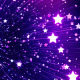 Fly Through Colorful Glowing Stars Galaxy - VideoHive Item for Sale