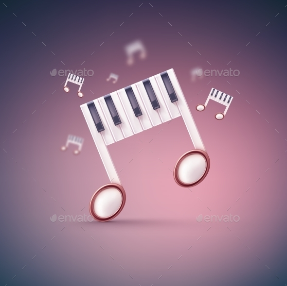 GraphicRiver Music Notes 10218165