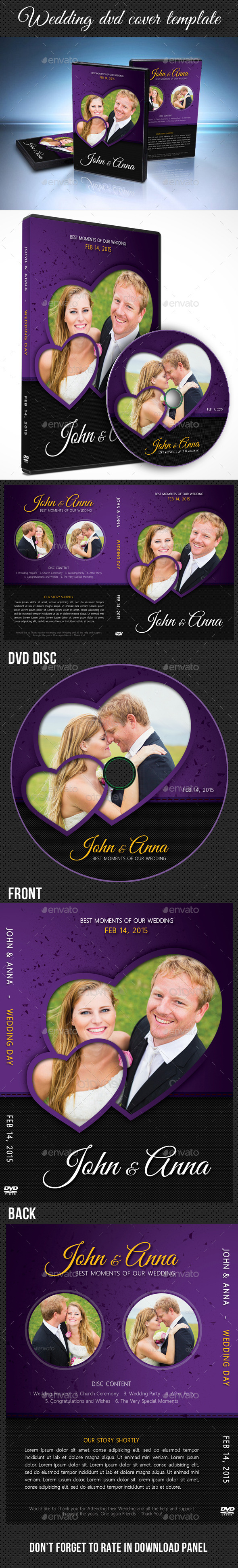 GraphicRiver Wedding DVD Cover Template 12 10218617
