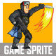 Navy Seal Game Sprite - GraphicRiver Item for Sale
