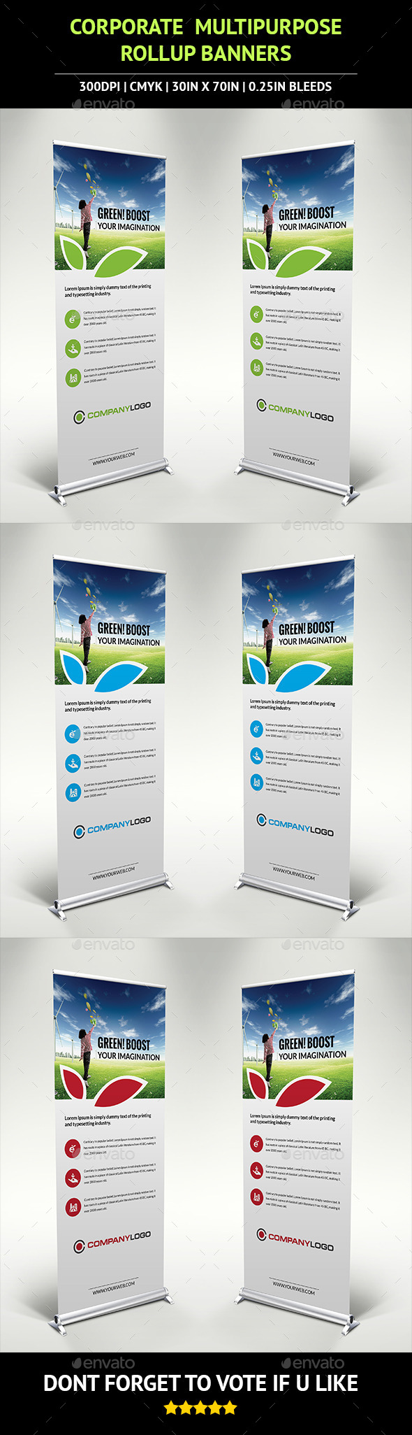 GraphicRiver Corporate Rollup Banner v3 10221218