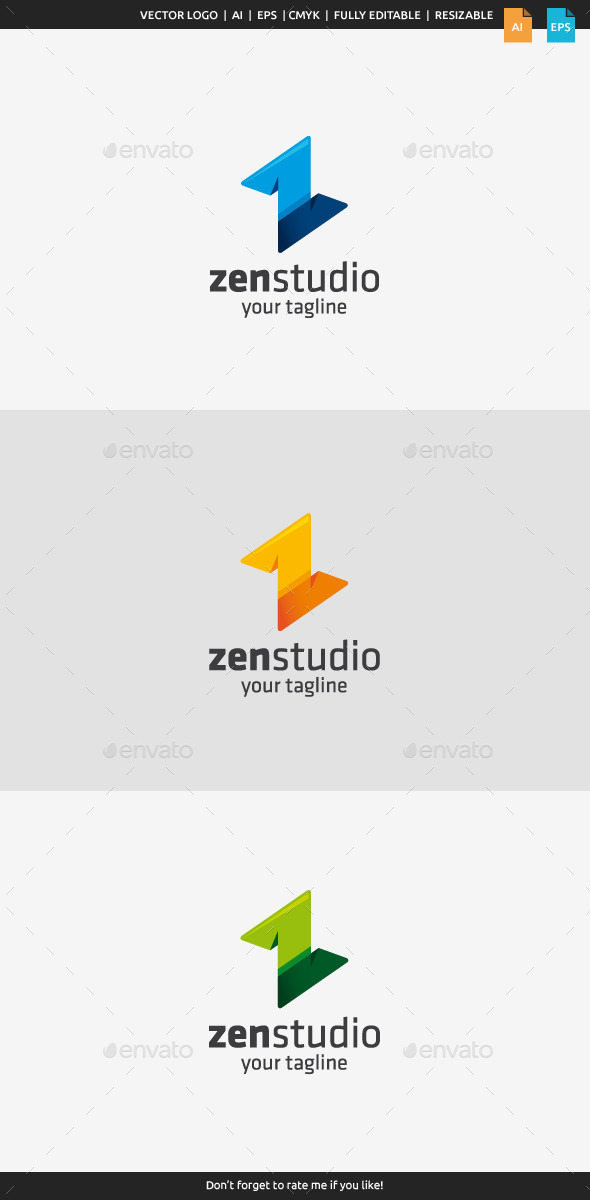 GraphicRiver Zen Studio Z Logo 10221836
