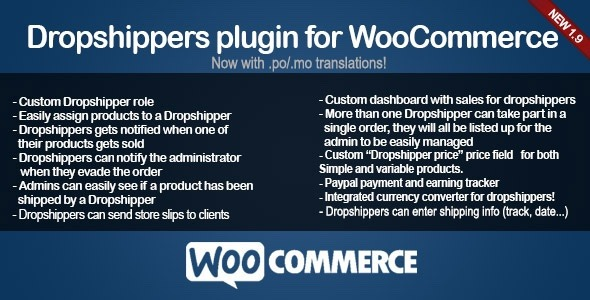 WooCommerce Dropshippers - CodeCanyon Item for Sale