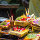 Hindu offerings at the temple in Bali, Indonesia - PhotoDune Item for Sale