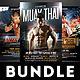 Muay Thai Flyers Bundle - GraphicRiver Item for Sale