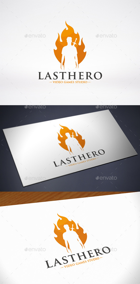 GraphicRiver Last Hero Logo Template 10222280