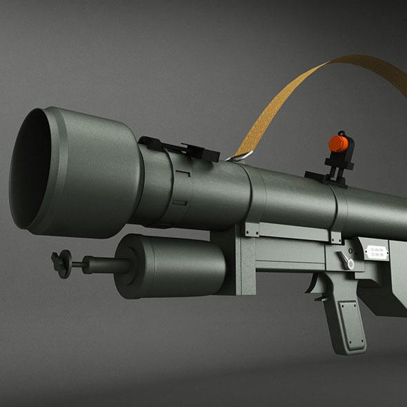 SA-7 Grail Rocket Launcher - 3DOcean Item for Sale