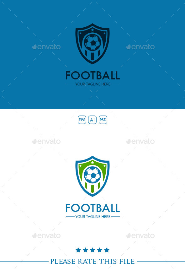 GraphicRiver Football Logo 10222507