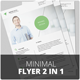 Corporate Flyer Template - Minimal - GraphicRiver Item for Sale