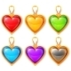 Heart Pendants - GraphicRiver Item for Sale