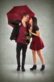 Couple and Umbrella - PhotoDune Item for Sale