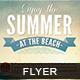 Enjoy the Summer Flyer - GraphicRiver Item for Sale
