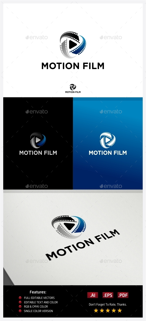 GraphicRiver Motion Film Logo 10224259