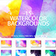12 Watercolor Backgrounds - GraphicRiver Item for Sale