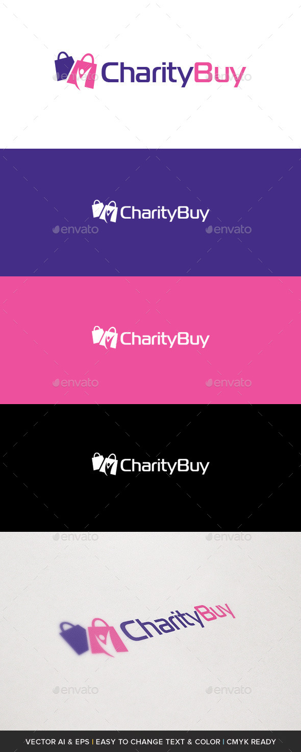 GraphicRiver Charity Buy Logo 10224898