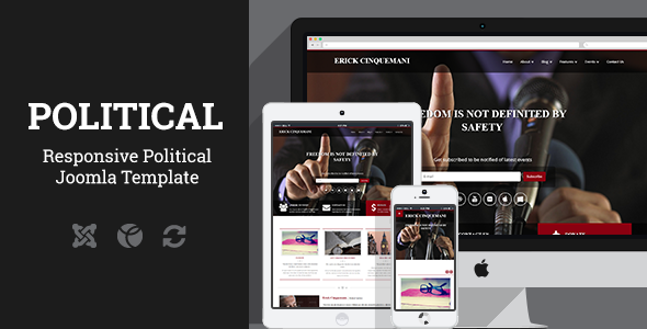 ThemeForest Political Joomla Template 10225410