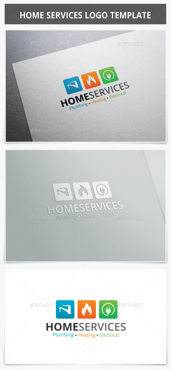 GraphicRiver Home Services Logo 10225440