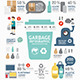 Garbage Annual Report Template Design Infographic - GraphicRiver Item for Sale