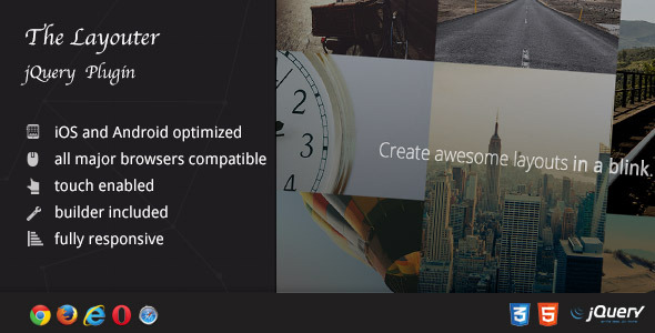 CodeCanyon Layouter Your Portfolio in Awesome Layouts 10226444