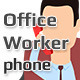 Office Worker -  Phone Call - VideoHive Item for Sale