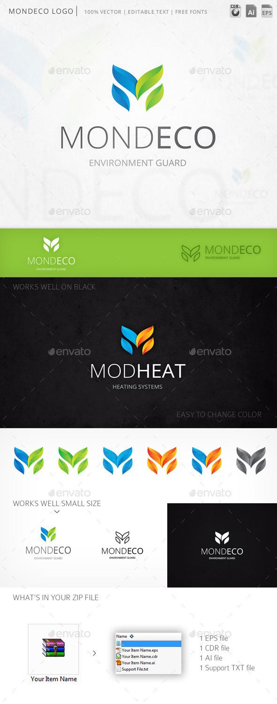 GraphicRiver Mondeco Logo 10227099