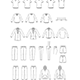 Garment Illustrations of Men's Clothes - GraphicRiver Item for Sale