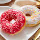 Delicious doughnut with confectioner's sugar. - PhotoDune Item for Sale