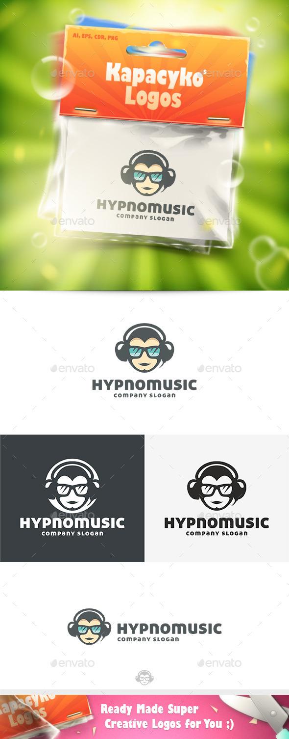 GraphicRiver Hypno Music Logo 10227849