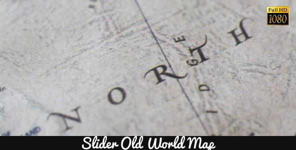 Old World Map 3