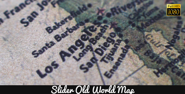Old World Map 6