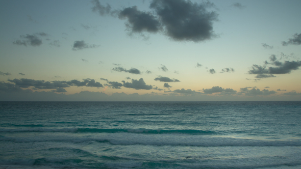 Cancun Beach Sunrise Mexico 1