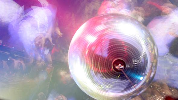 Canvas Glitterball
