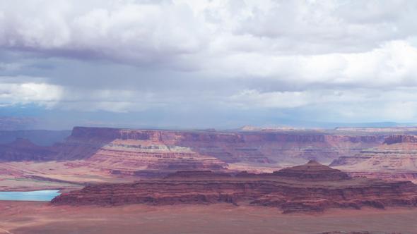 Rock Structures At Canyonlands Utah Usa