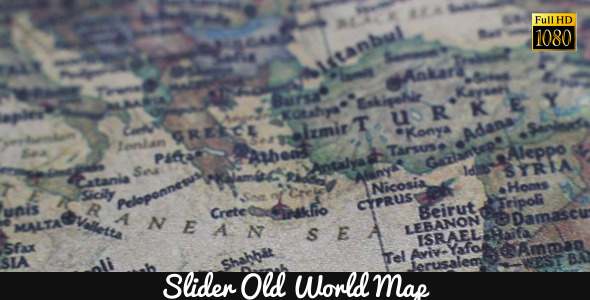 Old World Map 9
