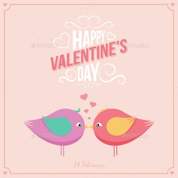 GraphicRiver Saint Valentine s Day Background 10228822