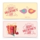 Saint Valentine's Day Banners - GraphicRiver Item for Sale