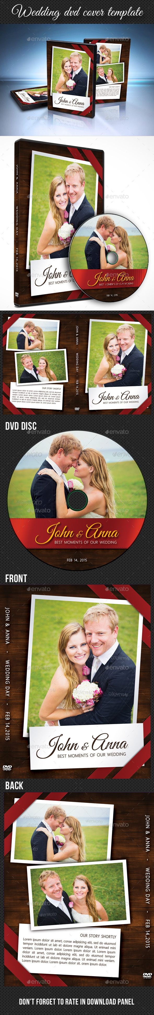 GraphicRiver Wedding DVD Cover Template 10 10229045