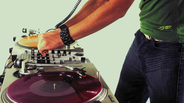 Dj Mixing Records 23