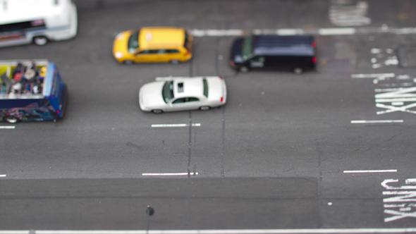 Manhattan Street Scene Traffic Nyc America 2