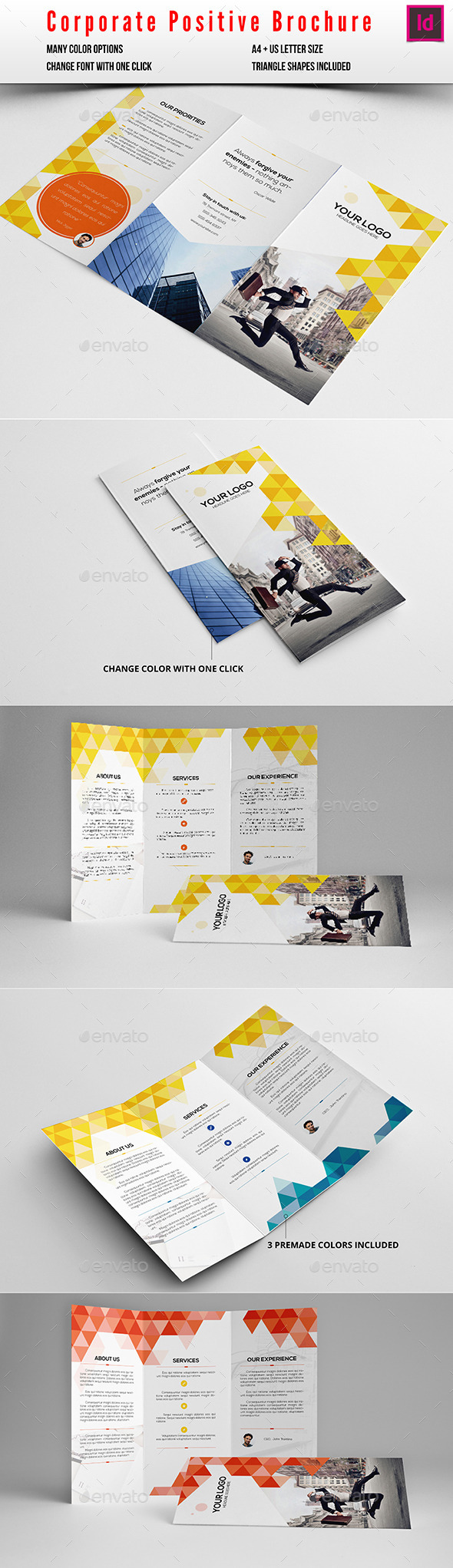 GraphicRiver Corporate Positive Brochure 10229347